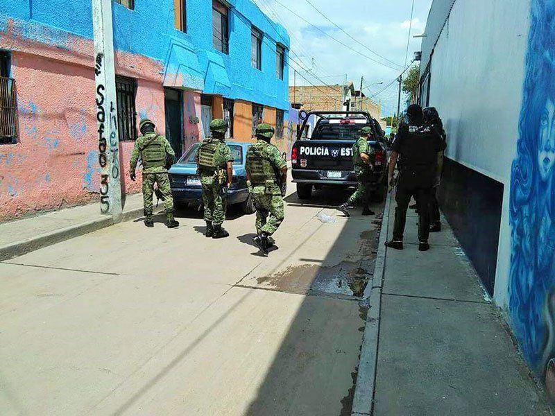 "¡Impresionante operativo policiaco-militar contra ""Los Monkikis"" en Aguascalientes!"