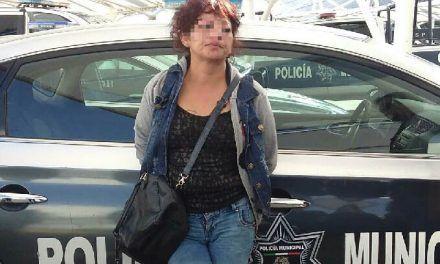 """¡Policías de Aguascalientes capturan a la mujer """"Asalta Viejitos""""!"""