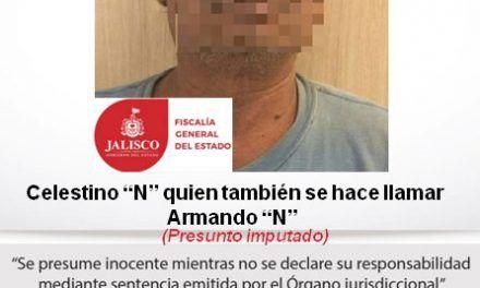 ¡Capturan a sujeto acusado de violación, prostitución infantil y corrupción de menores en Jalisco!