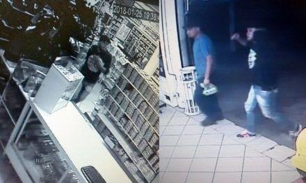 ¡Dos hombres asaltaron la Farmacia Lindavista en el Fracc. Rodolfo Landeros!