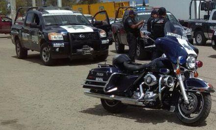 Recuperan en Asientos vehículo con reporte de robo