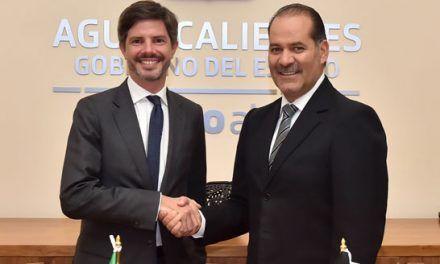 ¡Reconoce embajador de Bélgica a Aguascalientes como un Estado Seguro y Atractivo para la inversión extranjera!