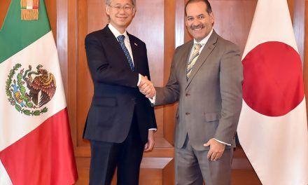 ¡Embajador de Japón en México reconoce la seguridad como uno de los activos más sólidos del estado!