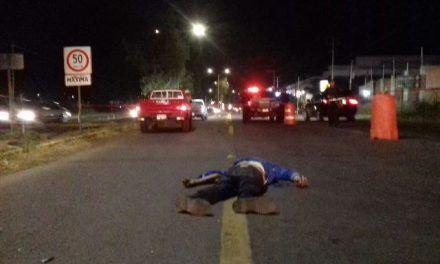 ¡Hombre murió atropellado por una camioneta a la que se le atravesó intencionalmente!