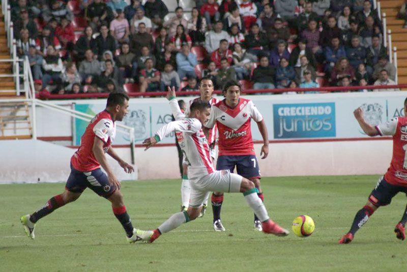 ¡Necaxa y Veracruz se hacen roscas en Aguascalientes!