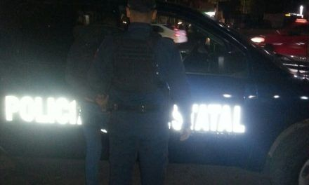 Detienen elementos de la SSPE  a presunto ladrón que operaba en la zona de Santa Anita
