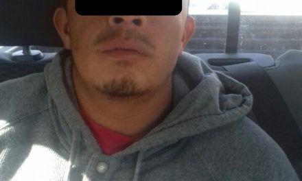 En San José de Gracia, fue detenido un individuo en posesión de droga