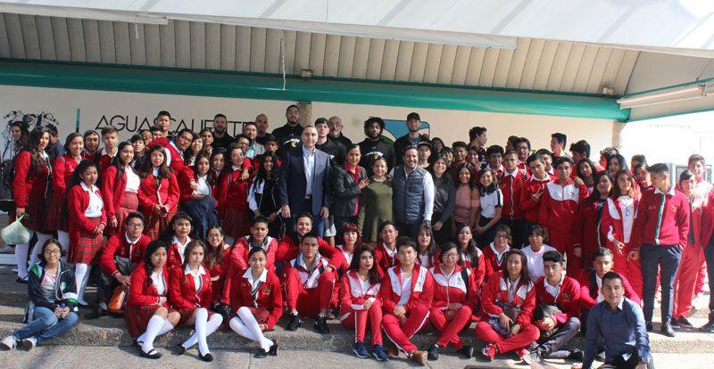 ¡El Club de basquetbol Panteras visitó a los jóvenes de la Casa del Adolescente!