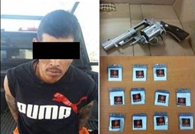 """¡Capturan a """"El Chuky"""", lider de celula criminal de """"Los Talibanes"""" en Ojocaliente, Zacatecas"""