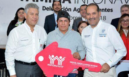 ¡Aguascalientes rebasó metas de entrega de créditos para vivienda: Infonavit!