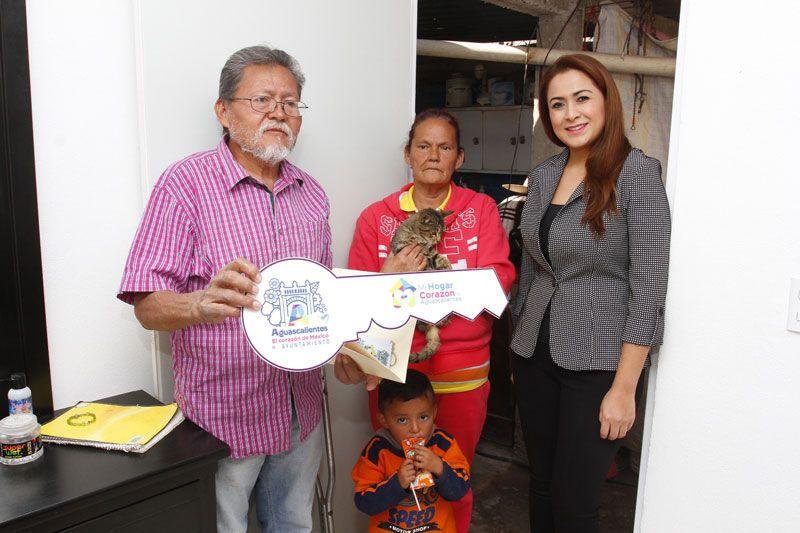 ¡Trabaja Tere Jiménez para mejorar viviendas de familias en situación vulnerable!