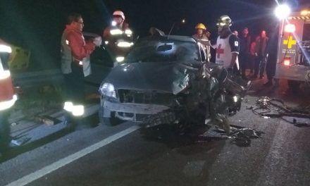 Se registró un choque en Calvillo que dejó como saldo dos lesionados