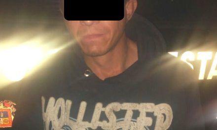 Portaba pastillas psicotrópicas y fue detenido por elementos de la SSPE