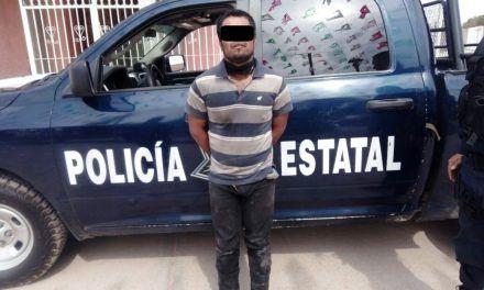 Detienen en Cosío a sujeto que cuenta con orden de aprehensión