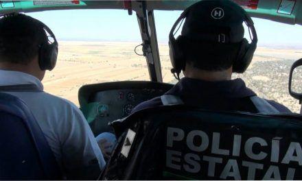 Mantiene la SSPE vigilancia aérea en todo el estado