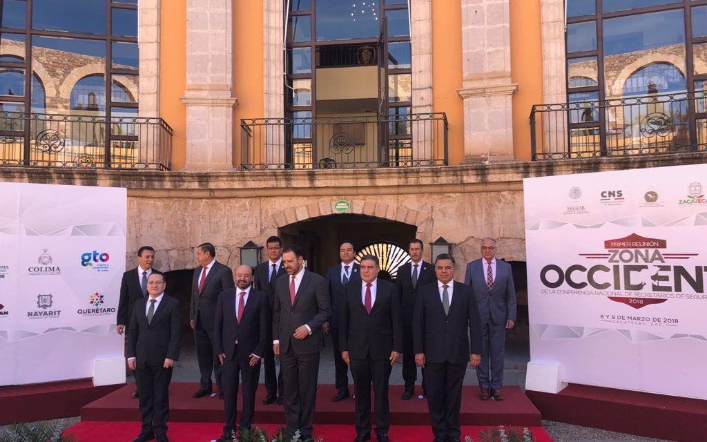 Primera Reunión de la Conferencia Nacional de Secretarios de Seguridad Pública de la Región Occidente