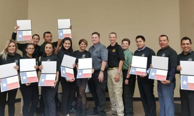 Concluyen elementos de la SSPE curso de capacitación en los Estados Unidos