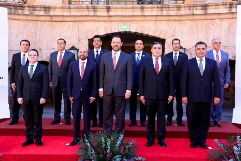 ¡Asiste Martínez Castuera a la 1era Reunión de la Conf. Nal. de Secretarios de Seguridad Pública!