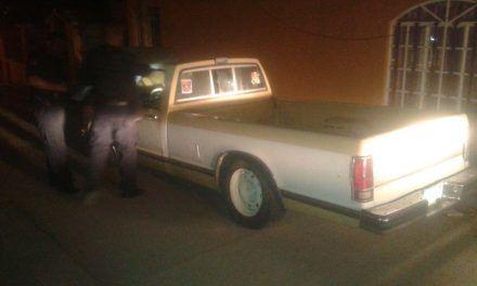 Camioneta robada fue recuperada en Asientos