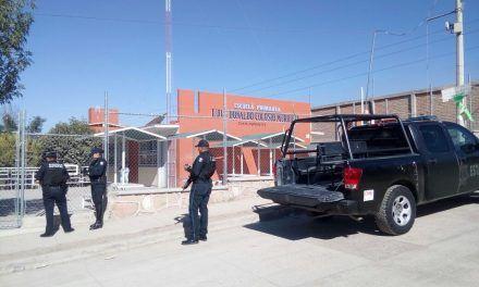 Policías del Estado atienden reporte de amenazas en plantel educativo