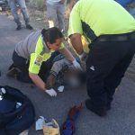 Choque en Pabellón de Arteaga deja una persona lesionada
