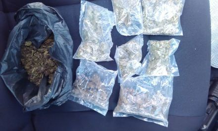 Detienen policías estatales a presunto distribuidor de droga