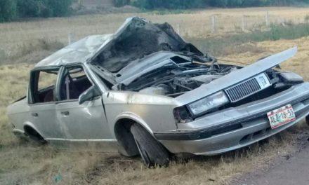 Hombre perdió la vida al volcar su vehículo en el Municipio de San Francisco de los Romo
