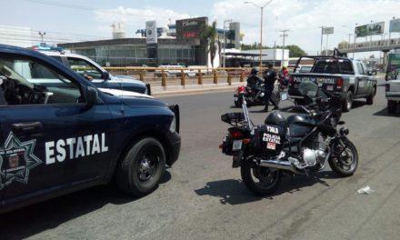 Detienen elementos de la SSPE a sujeto que conducía vehículo robado