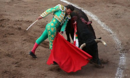 ¡Antonio Ferrera toreo con el alma y cautivo en la 4a. corrida del Serial sanmarqueño!