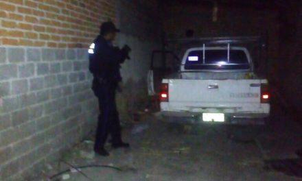 Vehículo con reporte de robo fue recuperado en El Llano