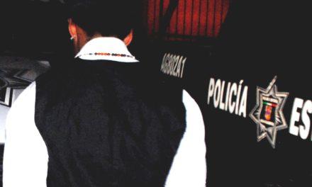 Capturan elementos de la SSPE a tres personas acusadas del robo de teléfonos celulares en la zona de la FNSM