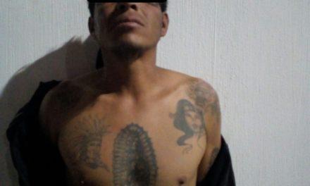 Capturan en Pabellón de Arteaga a un sujeto acusado de robo domiciliario