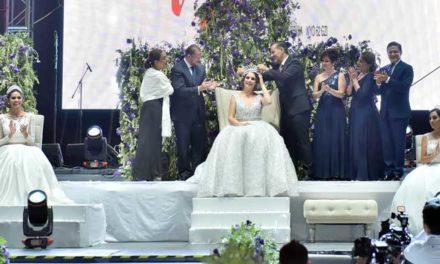 ¡Pamela I es coronada como la soberana de la Feria Nacional de San Marcos 2018!