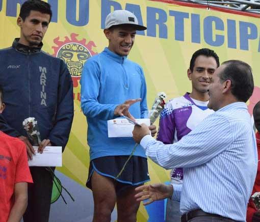 ¡Premiación de la categoría infantil del Maratón Guadalupano!
