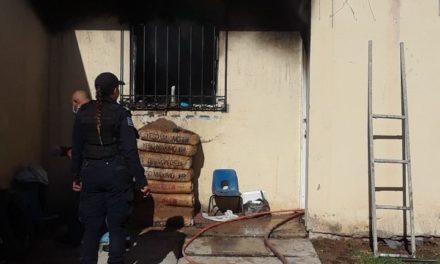 Se registró incendio en una casa habitación del Municipio de  Pabellón de Arteaga