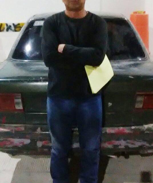Conducía vehículo con reporte de robo y fue detenido en Pabellón de Arteaga
