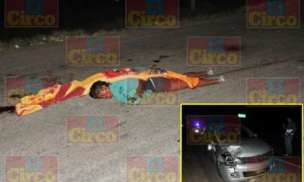 ¡Murió atropellado un joven que ejercía la prostitución en la 45 Sur en Aguascalientes!