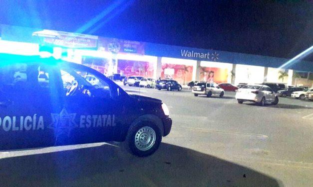 Captura policía estatal a sujeto por robo con violencia en una tienda de conveniencia ubicada al norte de la ciudad