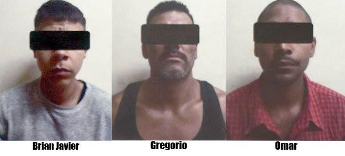 GALERIA/¡Detuvieron a 3 integrantes de una célula criminal en Fresnillo: les imputan 17 homicidios y 1 secuestro!