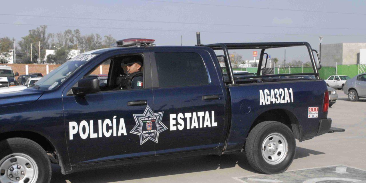 Conducía un vehículo robado y fue detenido por la Policía Estatal