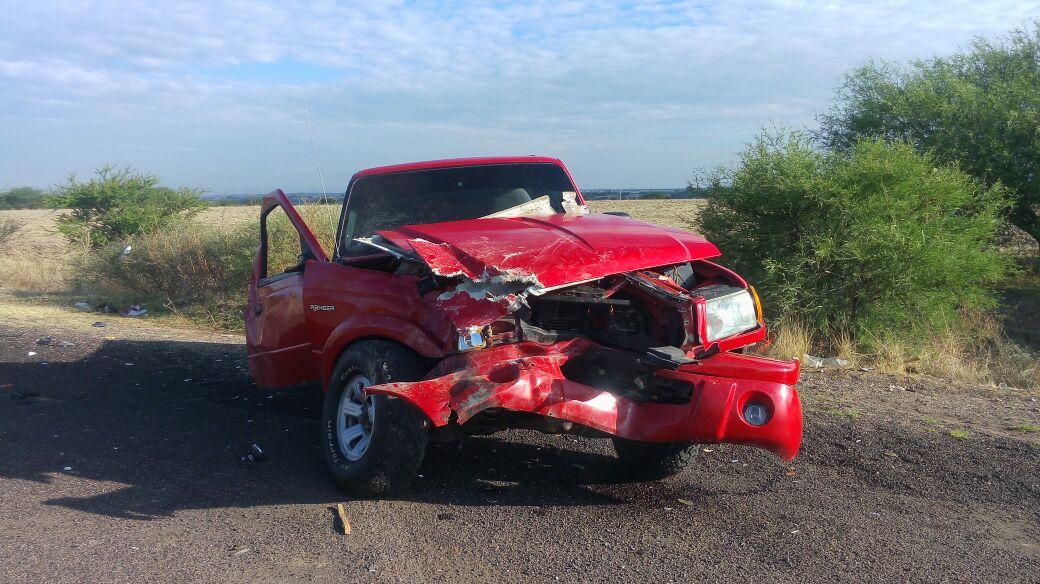 Se registró accidente sobre la carretera 70 oriente