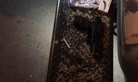 Policías estatales  desarticulan banda presuntamente dedicada al robo de vehículos