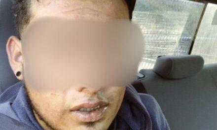 Sujeto señalado por robo a negociación, fue detenido en el municipio de Asientos