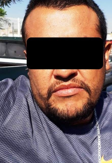 Detienen en San Francisco de los Romo a presunto distribuidor de droga