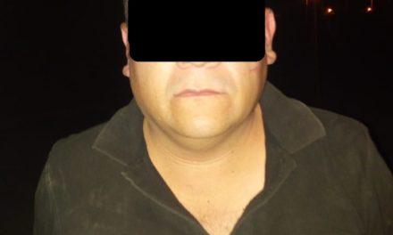 Presunto distribuidor de droga fue detenido en el fraccionamiento Cartagena