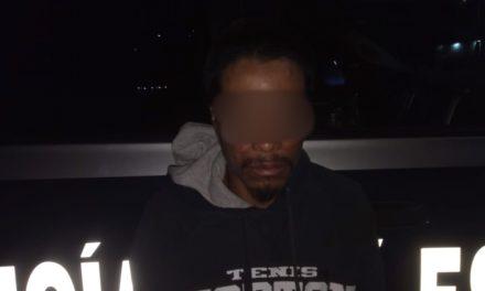 Captura la policía estatal a presunto distribuidor de droga en el municipio de Jesús María