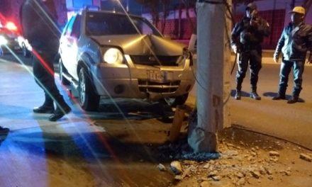 Accidente tipo choque – atropello en Pabellón de Arteaga