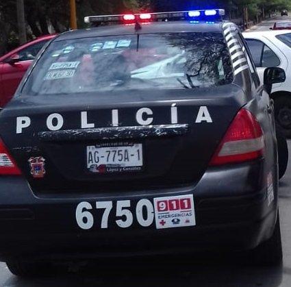 Agredió a los policías estatales y fue detenido en la colonia Talamantes Ponce