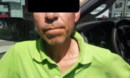 Detienen elementos de la Policía Estatal a un sujeto en posesión de droga