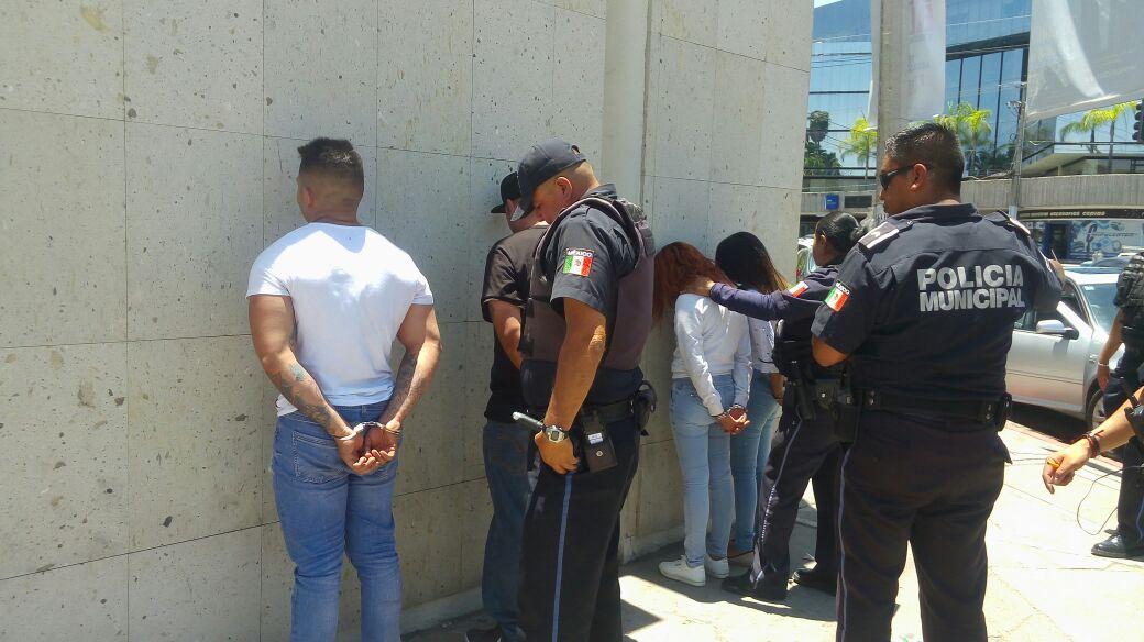 Fueron detenidos en operativo conjunto de la SSPE y la policía ...